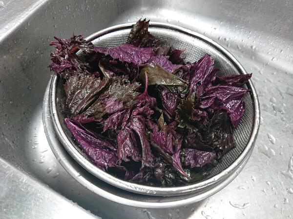 洗った紫蘇.jpg